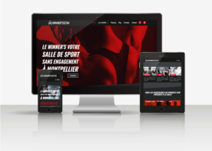 Ma mission de webmaster pour le Winner's Gym