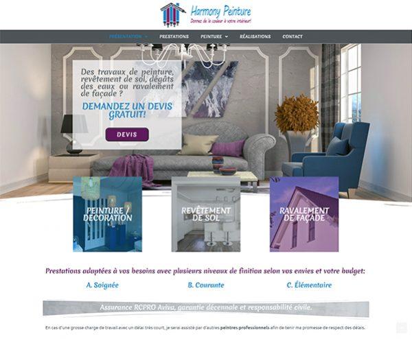 webmaster montpellier et site internet réalisé par Aire Digitale